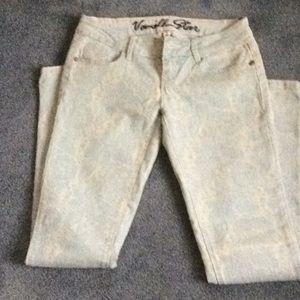 Vanilla star print jeans